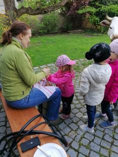 Školní exkurze na farmu Moulisových
