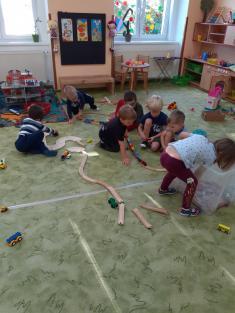 Náš první den ve školce.